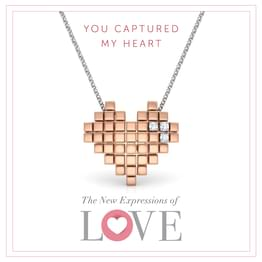 You Captured My Heart Pendant