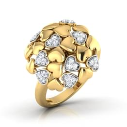 Heart Burst Ring