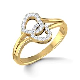 Entangled Heart Ring