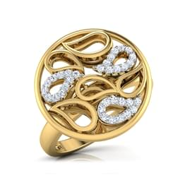 Rizwana Paisley Ring