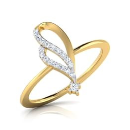 Flory Curved Ring