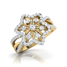 Giza Floral Ring