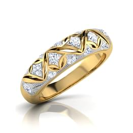 Aanya Twisty Diamond Band
