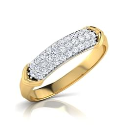 Graca Arrow Diamond Band