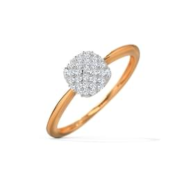 Janet Square Domed Ring