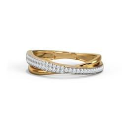 Gilda Shimmer Thread  Diamond Band