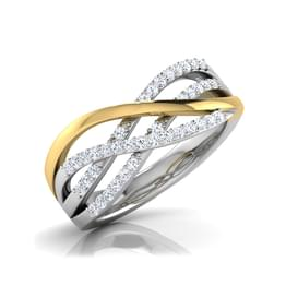 Lyla Contour Diamond Band