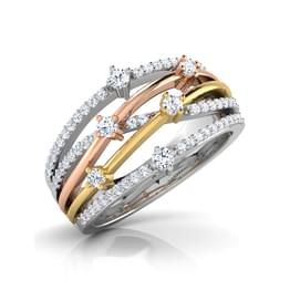 Syra Scatter Diamond Band