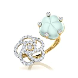 Ika Moonstone Ring