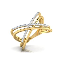 Parallel Criss Cross Ring