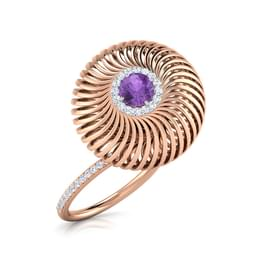 Swirl Dome Ring