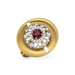 Orb Brocade Ring