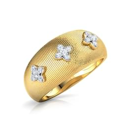 Trio Cornus Brocade Ring