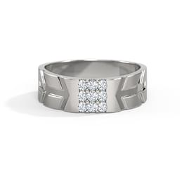 Luke Platinum Ring for Him