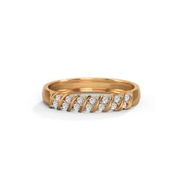 Oblique Diamond Band
