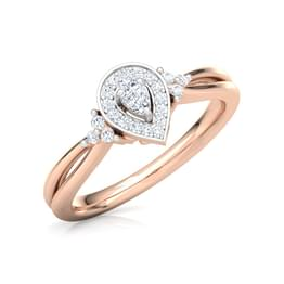 Dazzling Drop Promise Ring