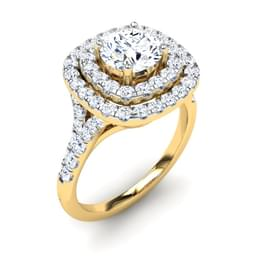 Charm Halo Ring Mount