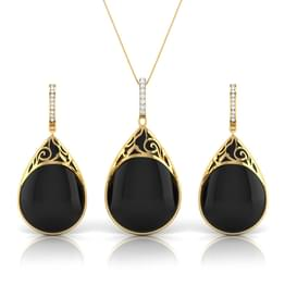 Midnight Black Onyx Matching Set