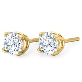 V-prong Stud Earrings