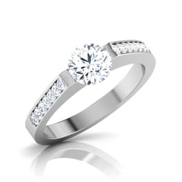 Metro Solitaire Ring