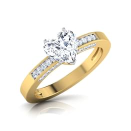 Spellbinder Solitaire Ring