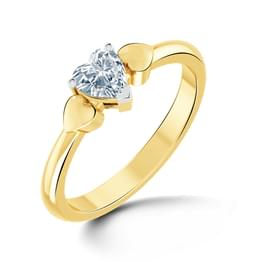 Aura Solitaire Ring