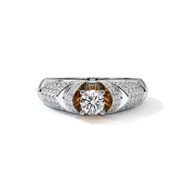 Lofty Solitaire Ring