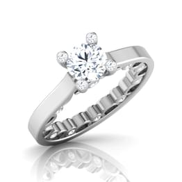 Glaze Princess Solitaire Ring