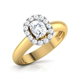 Crown Princess Solitaire Ring