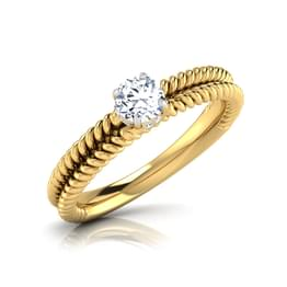 Cora Plush Solitaire Ring