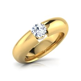 Max Solitaire Ring for Him