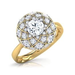The Taj Grandeur Solitaire Ring