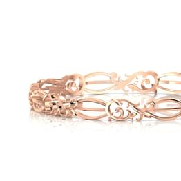 Swirl Filigree Bangle