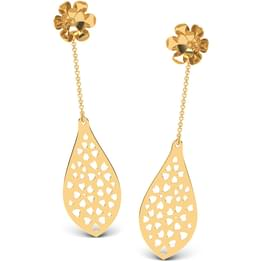Floral Droplet Lace Earrings