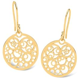 Polka Dots Circular Earrings