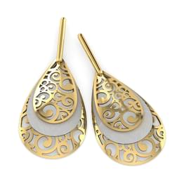 Liv Swirled Drop Earrings