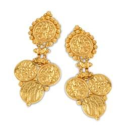 Muriel Coin Drop Earrings