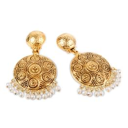 Orabel Swirled Drop Earrings