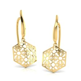 Cathica Cutout Drop Earrings