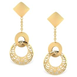 Emmy Cutout Drop Earrings