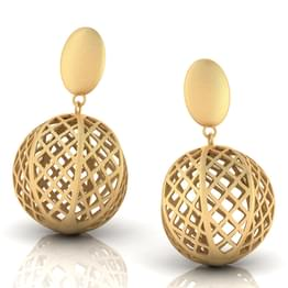 Maggie Cutout Drop Earrings