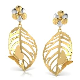 Rebecca Cutout Drop Earrings