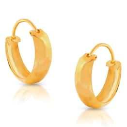 Deeta Classic Gold Earrings