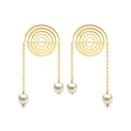 Encircled Drop Earrings