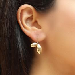 Jia Petals Drop Earrings