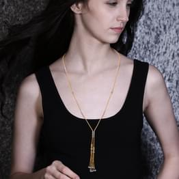 Tassel Intersect Necklace