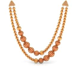 Awry Beads Gold Necklace