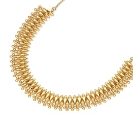 Grand Nakashi Beads Gold Necklace