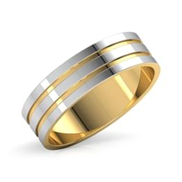 Bram Gold Band for Him