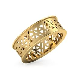 Triangular Cutout Ring